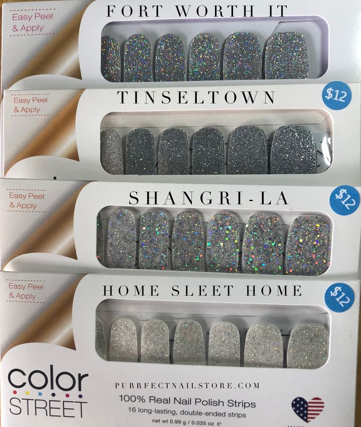 Brand New From The Spring 2019 Color Street Line Fort Worth It Compared To Tinseltown Shangri