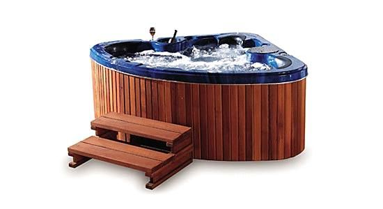 Low profile hot tubs home products catalog triangle for Low profile bath tubs