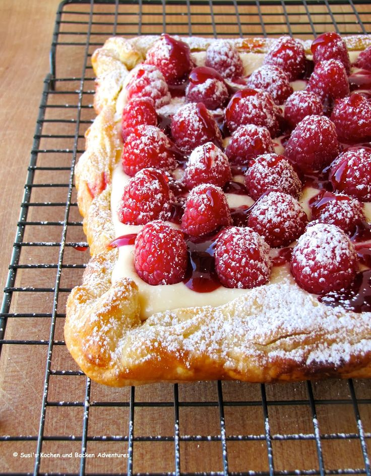 Rustic Raspberry Lemon Cheesecake Tart Recipe