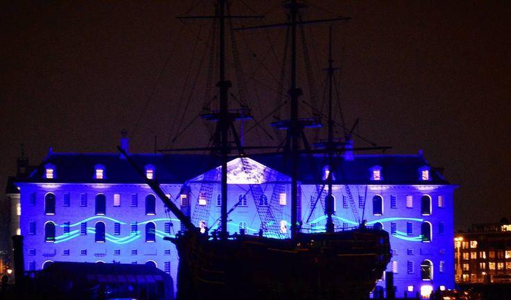 Amsterdam Light  Festival: Blueprint by Reier Pos.
