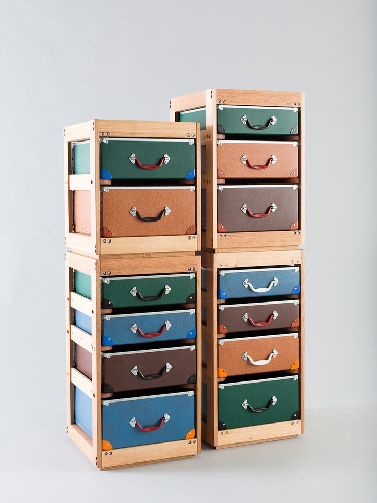 Trunk & Orderly: Ideas, Hatboxes Suitcases Trunks, Trunks Chests Boxes Etc, Altered Trunks, Storage Idea, Orderly Drawers, Furniture, Storage Units