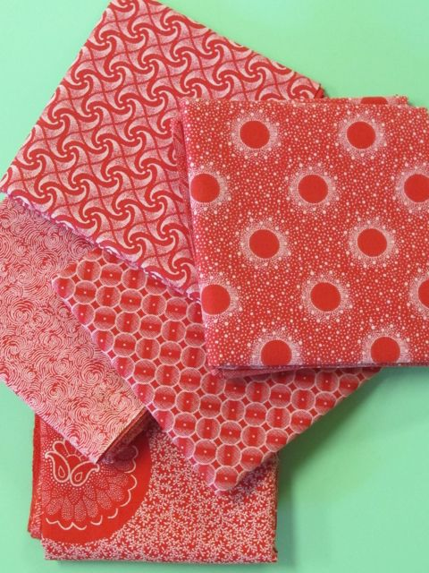 Shweshwe fabrics made in So. Africa.  Love the color and designs.