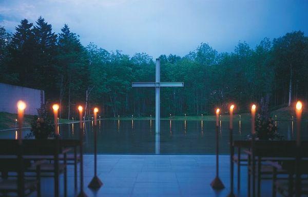 安藤忠雄 水の教会 Hokkaido, Japan