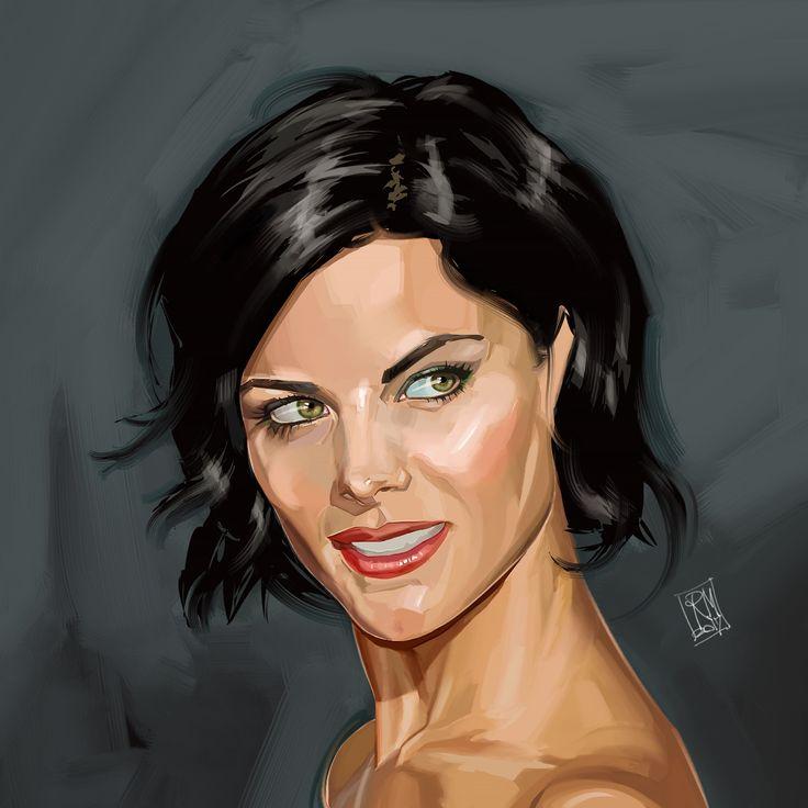 Digital painting by Riccardo Messina