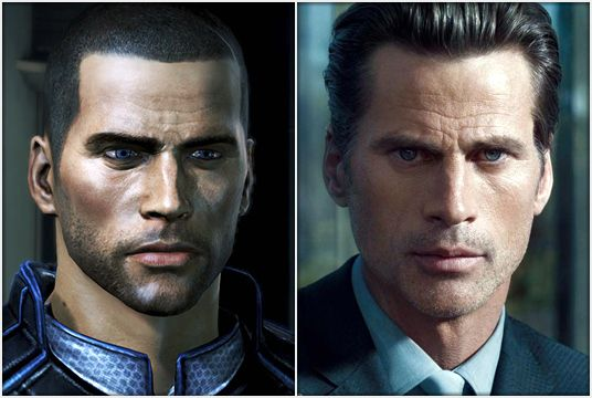 "Mark Vanderloo es Commander Shepard en ""Mass Effect"""