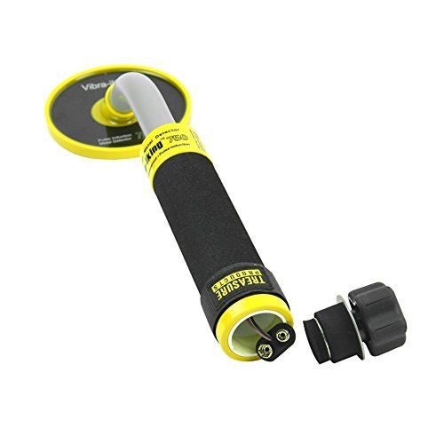 cool Vibra-King 750 Underwater Metal Detector with Vibration and LED Detection Indicator - Handheld Waterproof Treasure Hunting Metal Detector with Pulse Induction Technology by Emperor of Gadgets