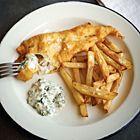Fish and chips met zelfgemaakte tartaarsaus - recept - okoko recepten