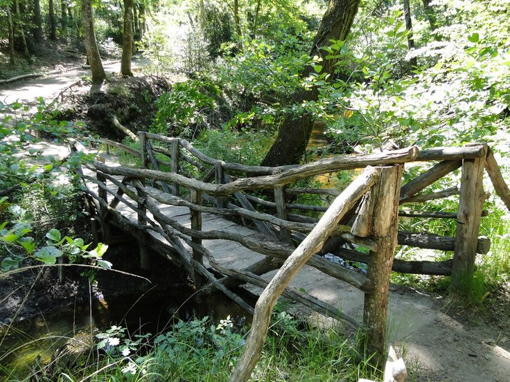 Le petit pont de bois de PERSYN Thérèse  Campagne  Pinterest  ~ Pont De Jardin En Bois