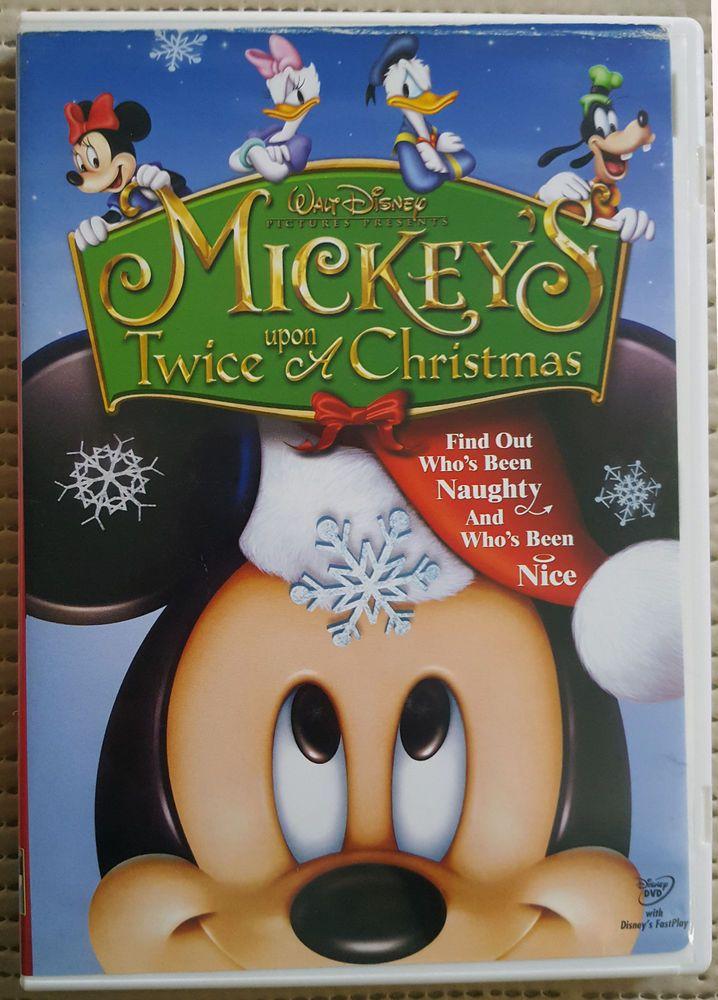 Mickey Mouse Twice Upon A Christmas Dvd.Walt Disney Mickey S Twice Upon A Christmas 2004 Dvd