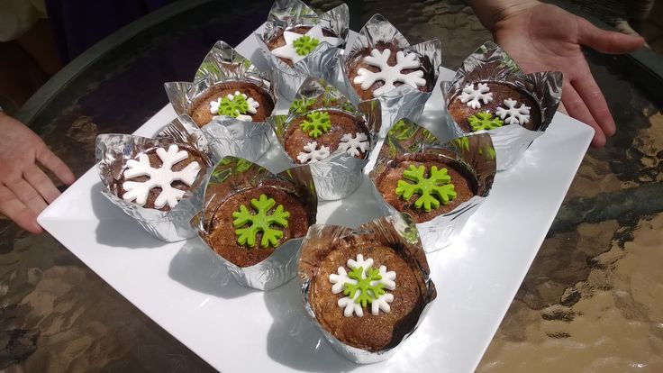 Fruit Cake Cup Cakes