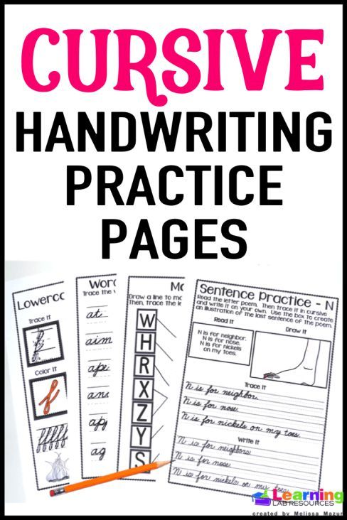 learning cursive writing These 22 videos cover cursive handwriting for lowercase letters, capital letters, numbers, days of the week, and months.