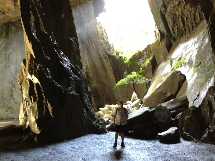 Cathedral Cave, Little Langdale - Sept 2012