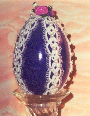 Laura's Beaded Egg