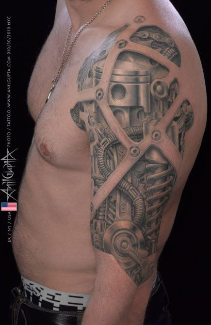 #Tattoo by Anil Gupta see more #tattoos at www.freshlyinkedm... #Inkedmag.com