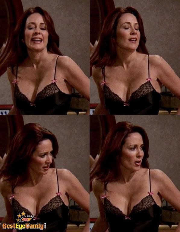 from Karter patricia heaton in a bra