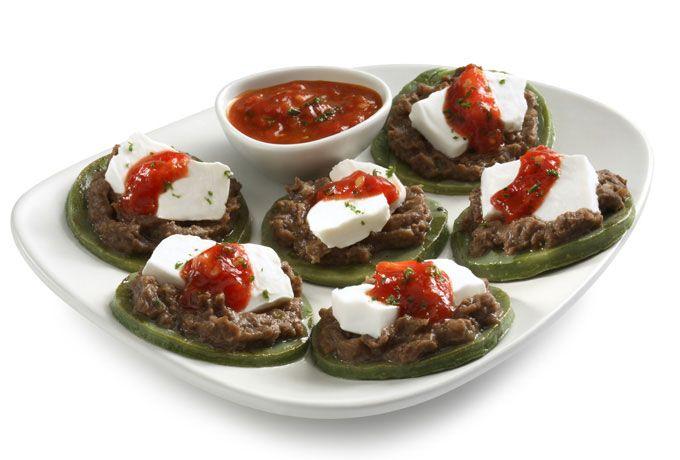 Sopes de nopal Philadelphia - Platillos con vegetales - Comida - Recetas - Philadelphia