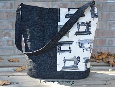Leader Sews : Swoon Patterns Bonnie Bucket (Review)