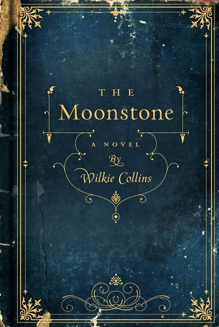 Beautiful Old Books...The Moonstone by Wilkie Collins, 1868.  ( I love this book!!!  It's a must read classic)