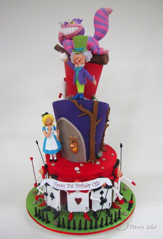 1245 best images about wonderland cakes on pinterest mad