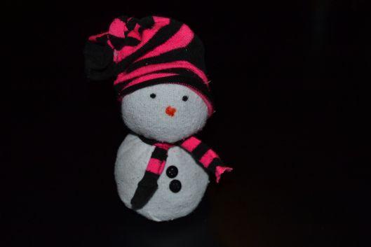 snemand af sokker