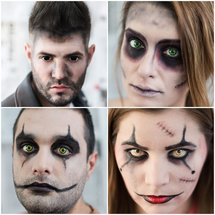 Nicio petrecere de Halloween, fara lentile de contact colorate