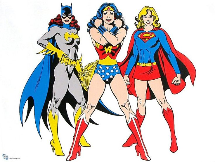 Wonder Woman LOVES Supergirl | are also lots of pics of the Women Trinity - Wonder Woman, Supergirl ...
