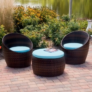 Patio Furniture: Outside Furniture, Outdoor Living, Outdoor Furniture, Patio Sets, Small Patio Furniture, Brick Walkways, Small Spaces, Outdoor Patio Furniture, Modern Home
