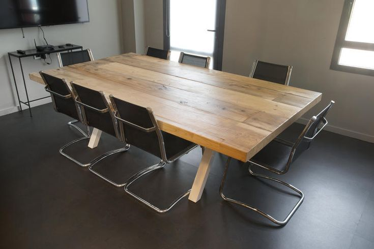 Table en bois massif⎥Bureau⎥La Parqueterie Nou…