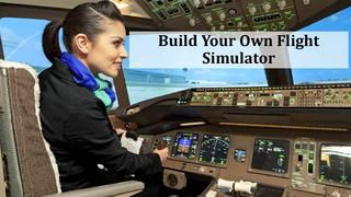 Build Your Own Flight Simulator Cockpits at Home  Flight simulators have long been used for pilot training, but with the emergence of flight simulator games, they've become popular with home gamer`s as well.