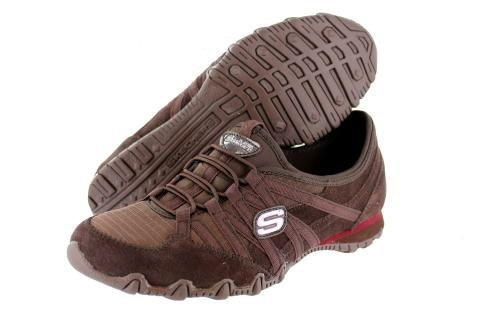 SKECHERS 21139 BIKERS VERIFIED TOFFEE WOMENS « Shoe Adds for your Closet