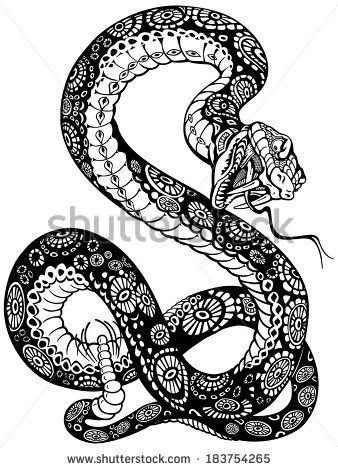 9 best snake tattoo reference inspiration images on pinterest see a rich collection of stock images vectors or photos for open mouthed snake you can buy on shutterstock fandeluxe Epub