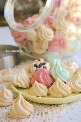 mamma'sメレンゲクッキー by HIROマンマ [クックパッド] 簡単おいしい ...