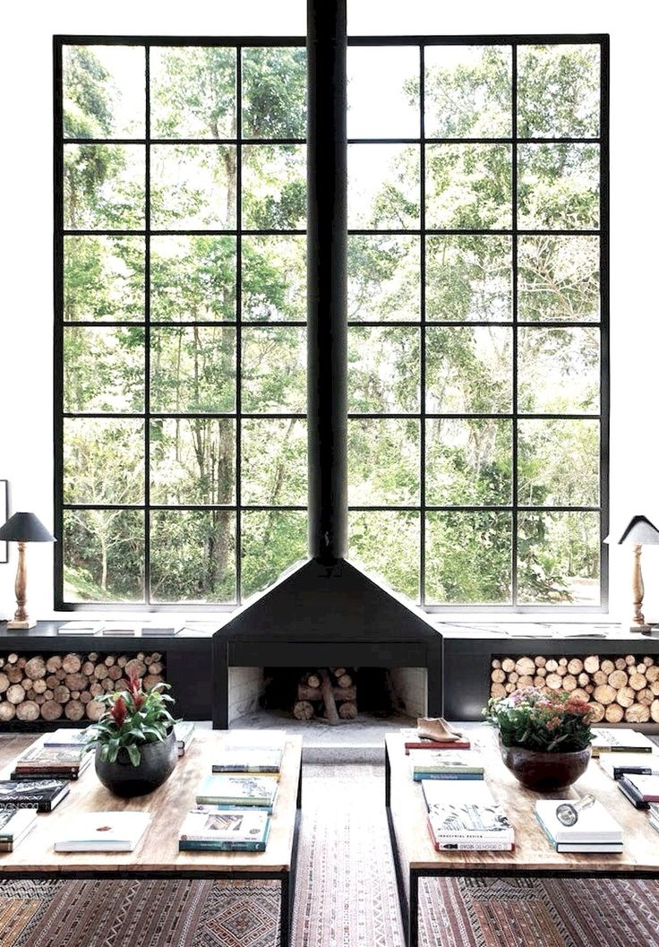 60+ Scandinavian Fireplace Ideas for Your Living Room
