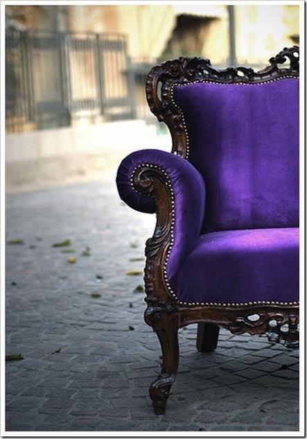 Purple. Vintage. City. Lovely! Inspiration for #purple #gems AHHHH LOVE!