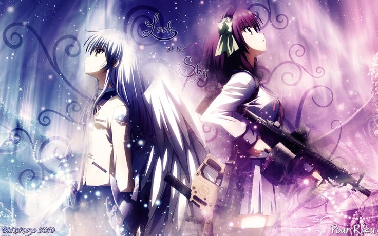 Angel Beats  http://www.thenewsin.com/anime/top-20-most-striking-outcomes-in-anime-and-manga/attachment/angel-beats-2/