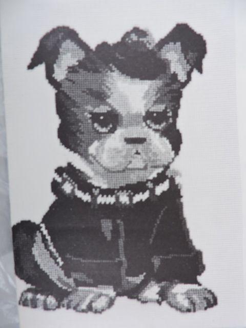 SeeSallySew.com - Bull Dog Butch the Bulldog Jean McIntosh Ltd Petit Point No M - 39 Needlework, $8.00 (http://stores.seesallysew.com/bull-dog-butch-the-bulldog-jean-mcintosh-ltd-petit-point-no-m-39-needlework/)