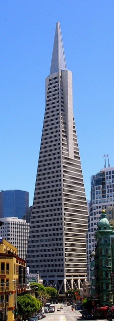 Transamerica Pyramid, via Flickr.
