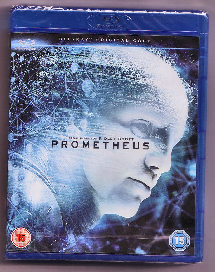 Prometheus Blu Ray & Digital Copy NEW & SEALED (Ridley Scott Alien Blade Runner)