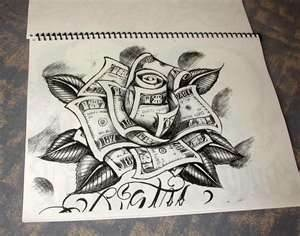 Would like as a tattoo and if the money was all bejamins..