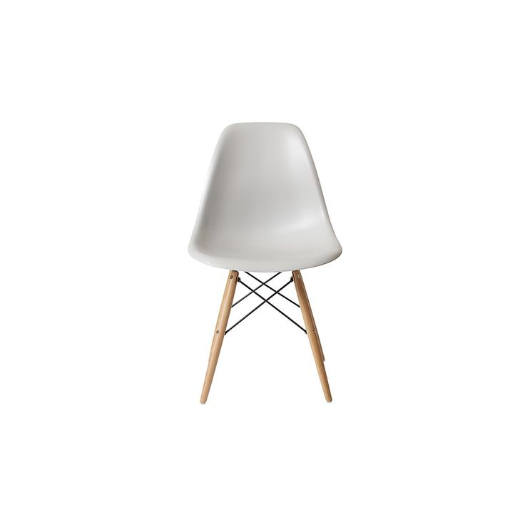 Dining chairs, nood dsw dining chair - stone