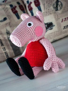 Peppa Pig de Amigurumi