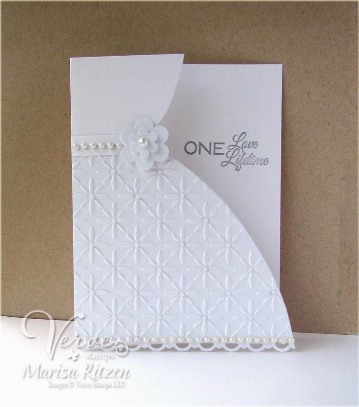 handmade wedding cards ireland%0A Card by Marisa Ritzen using Love Story by Verve Stamps   vervestamps
