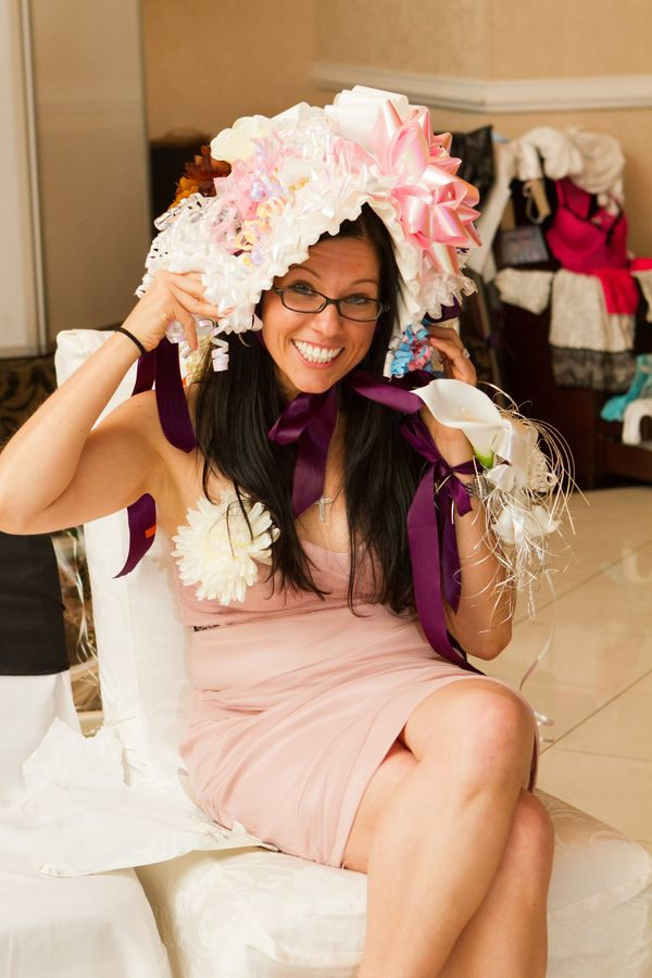 Events by Gia knows some traditions never die - the Ribbon Hat is always a favorite at Bridal and Baby Showers!  #atlanta #atlantabridal #eventstyling #eventsbygia #weddingplanning #eventcompany #corporateevent #sherwoodeventhall #wedding #atlantawedding #weddingideas #atlantavenues #partyideas #bridalshower #babyshower #showerribbons #ribbonhat