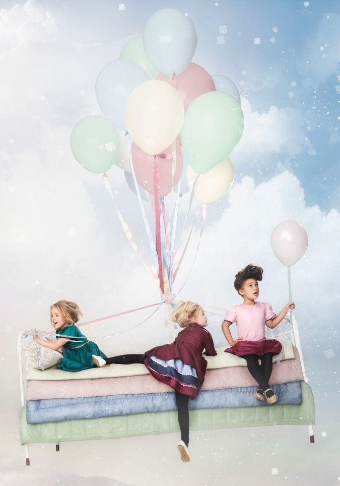 Livly Clothing dreamy campaign for Autumn Winter 2014 children's clothing from Sweden ❤️