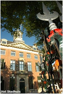 Leeuwarden, Raadhuisplein, here is the Stadhuis (City Hall), where marriages and city council meetings follow each other