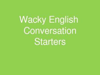 Free!! Fun way to work on conversational speech skills.