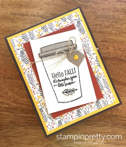 SNEAK PEEK from the Stampin' Up! Holiday catalog of the Merry Cafe Stamp Set. Read more https://stampinpretty.com/2017/08/sneak-peek-merry-cafe-stamp-set.html
