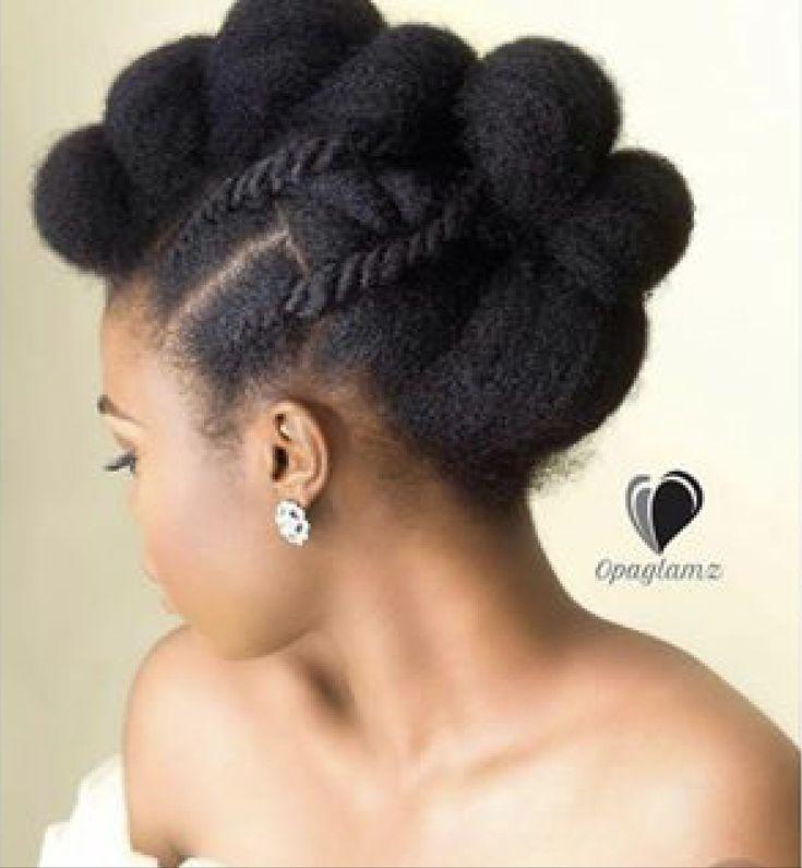 Natural Black Hair #AfroHair #KinkyHair #BlackHair