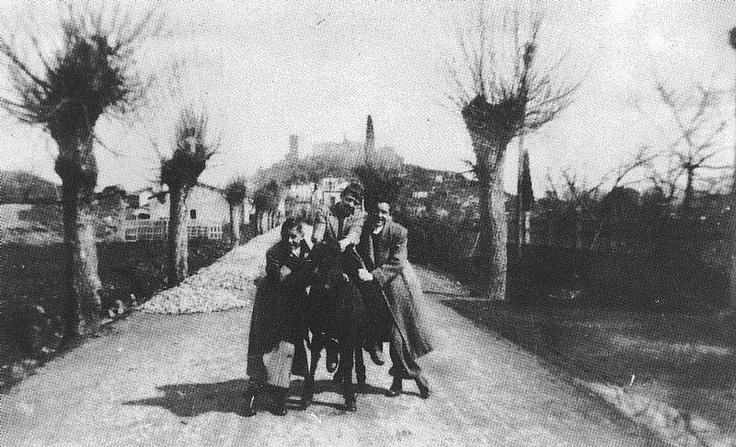 La carretera de Ourense en 1944