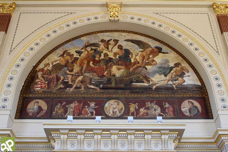 https://www.facebook.com/patriotaeuropa/photos Keleti-pályaudvar épülete és a Lotz Károly (1833-1904) freskók - Budapest